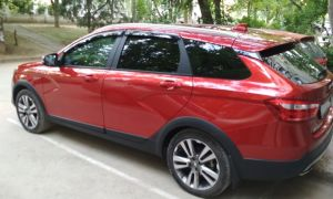 Обзор популярного автомобиля Lada Vesta: Sport Wagon Cross