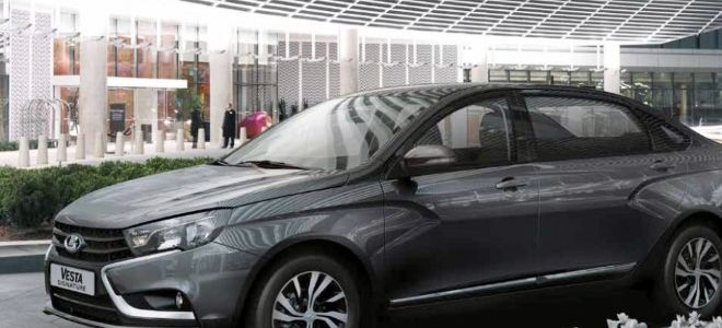 Lada Vesta Signature — эксклюзив для правительства