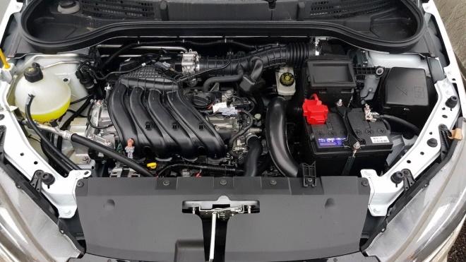 Новый двигатель от Рено на Весту